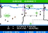 Panzer Grenadier Apple II Each turn allows for progress save