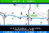 Panzer Grenadier Apple II Victory level moving up as we still control all bridges and finish off the counter attack.