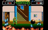 Teenage Mutant Ninja Turtles Atari ST You have to rescue April from the flames