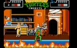 Teenage Mutant Ninja Turtles Atari ST Here is April, but you have to defeat Rocksteady to rescue her