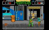 Teenage Mutant Ninja Turtles Atari ST There is April, but you have to defeat Rocksteady