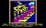 The Crack of Doom DOS In the tower of Cirith Ungol - Those statues don't look to friendly (EGA)