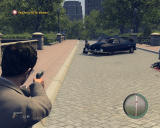 Mafia II Windows Intense shoot-out in the park!