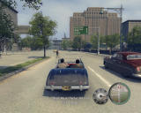 Mafia II Windows Check out my cool convertible! Driving through a central area of the city