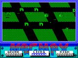 MagMax ZX Spectrum Crashing into a house, being shot, or being rammed by an alien all cost a life. The object is to collect the head on the far right by flying into it