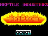Mailstrom ZX Spectrum Loading screen 2