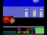 Mailstrom ZX Spectrum To drive, position Mike next to the car and press an action key to get the sub menu. Then select the 'enter car' action
