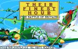 Their Finest Hour: The Battle of Britain Atari ST Title