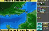 Their Finest Hour: The Battle of Britain Atari ST Flight battle map