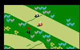 Motocross Intellivision Starting a two player race
