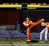 Art of Fighting TurboGrafx CD Ryo, why do you hit Robert? I thought he was your friend...