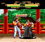 Art of Fighting TurboGrafx CD Robert takes on Todo