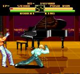 Art of Fighting TurboGrafx CD Well, we have a piano here, I want to dance, what's wrong with that?..