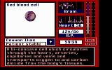 Laser Surgeon: The Microscopic Mission DOS The game comes with a help option for spesific information on passing microscopic cells (Press Enter on Cell)