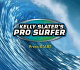 Kelly Slater's Pro Surfer PlayStation 2 Title screen.