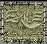 Exile: Wicked Phenomenon TurboGrafx CD Title screen