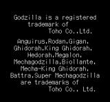 Godzilla TurboGrafx CD A list of trademarked beasts :) Don't you have some pretty girls to trademark?.. :)