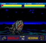 Godzilla TurboGrafx CD Hedorah is sucking my blood. Disgusting!..
