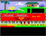 Manic Miner Windows Title screen