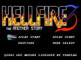 Hellfire S TurboGrafx CD Title screen