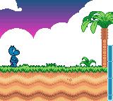Das Geheimnis der Happy Hippo-Insel Game Boy Color The first beach level
