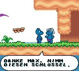 Das Geheimnis der Happy Hippo-Insel Game Boy Color We saved another Hippo and are rewarded with a key.