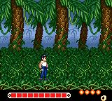 Yū Yū Hakusho: Horobishi Mono no Gyakushū Game Gear Jungle stage