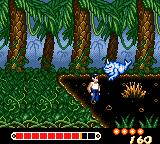Yū Yū Hakusho: Horobishi Mono no Gyakushū Game Gear An enemy from the pond of mud jumping at us