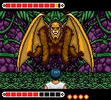 Yū Yū Hakusho: Horobishi Mono no Gyakushū Game Gear Boss fight