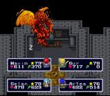 Lufia & the Fortress of Doom SNES Fighting gargoyles
