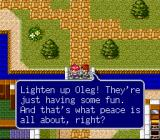 Lufia & the Fortress of Doom SNES Everything is peaceful...