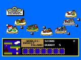 Rainbow Islands TurboGrafx CD Level select