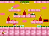 Rainbow Islands TurboGrafx CD This group of levels has a somewhat pastoral theme