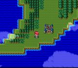 Lufia & the Fortress of Doom SNES World Map