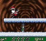 Gex 3: Deep Pocket Gecko Game Boy Color Fighting Evil Santa