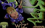 Wiz Commodore 64 Title Screen