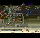 Metamor Jupiter TurboGrafx CD This level is crazy. Everything is blurry and constantly moving