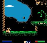 Disney's the Lion King: Simba's Mighty Adventure Game Boy Color First level