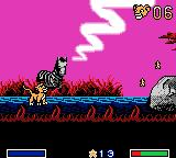 Disney's the Lion King: Simba's Mighty Adventure Game Boy Color The waterhole level