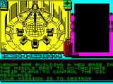 MASK Two Two ZX Spectrum Briefing for mission 2 : the oil mission