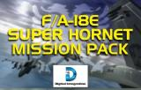 F/A-18E Super Hornet: The Albanian Campaign Windows Mission pack installation splash screen