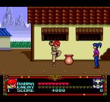 Ranma 1/2 TurboGrafx CD The female Ranma pushes jars to damage enemies...