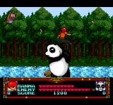 Ranma 1/2 TurboGrafx CD Boss battle: giant panda!