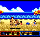 Ranma 1/2: Datō, Ganso Musabetsu Kakutō-Ryū! TurboGrafx CD Again this Happousai! This time on a beach, with all those pretty girls...