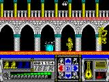 Casanova ZX Spectrum Casanova can leap to avoid flying daggers and to jump onto ropes, chains etc