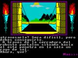 Abracadabra ZX Spectrum Game screen 2 - the text has changed
