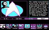 Star Trek: The Next Generation - The Transinium Challenge DOS Crew members reporting in... (CGA)