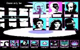 Star Trek: The Next Generation - The Transinium Challenge DOS The transporter room (CGA)