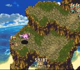 Seiken Densetsu 3 SNES The amazon fights a strange bird with a spear