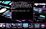 Star Trek: The Next Generation - The Transinium Challenge DOS Review entries in the captains log (CGA)